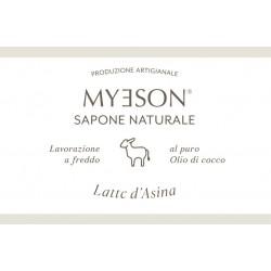 Sapone Naturale Solido Myeson LATTE DI ASINA
